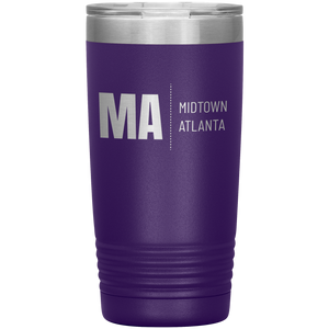 Midtown Atlanta Tumbler Purple