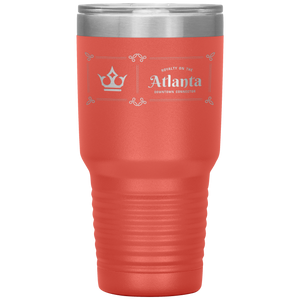Atlanta Downtown Connector Tumbler Coral