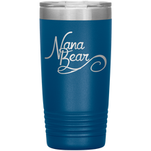 Load image into Gallery viewer, Nana Bear Stainless-Steel Tumbler Blue