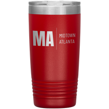 Load image into Gallery viewer, Midtown Atlanta Tumbler Red