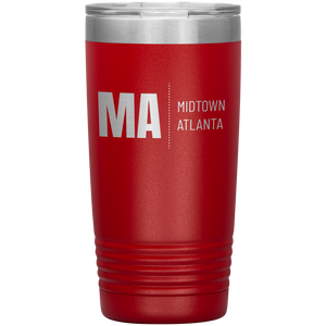 Midtown Atlanta Tumbler Red