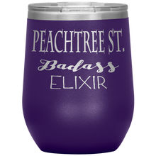 Load image into Gallery viewer, Peachtree Street Badass Elixir Wine Tumbler Purple
