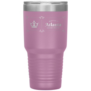 Atlanta Downtown Connector Tumbler Light Purple