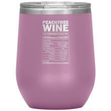 Load image into Gallery viewer, Peachtree Wine Facts Tumbler Light Purple