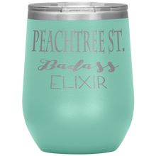 Load image into Gallery viewer, Peachtree Street Badass Elixir Wine Tumbler Teel