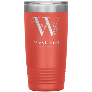 West End Atlanta Tumbler Coral