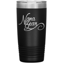 Load image into Gallery viewer, Nana Bear Stainless-Steel Tumbler Black