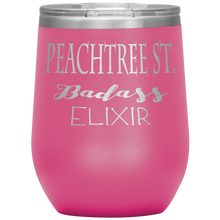 Load image into Gallery viewer, Peachtree Street Badass Elixir Wine Tumbler Pink