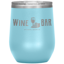 Load image into Gallery viewer, Wine Bar Atlanta Tumbler Light Blue