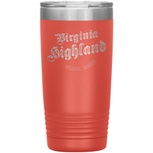 Load image into Gallery viewer, Virginia Highland Tumbler Coral