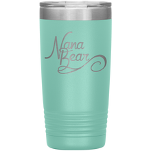 Load image into Gallery viewer, Nana Bear Stainless-Steel Tumbler Teal