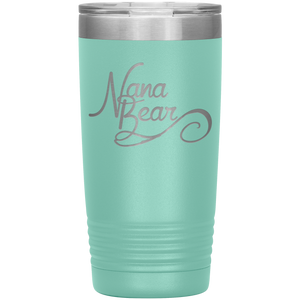 Nana Bear Stainless-Steel Tumbler Teal