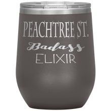 Load image into Gallery viewer, Peachtree Street Badass Elixir Wine Tumbler Pewter