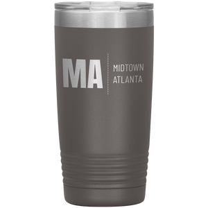Midtown Atlanta Tumbler Pewter