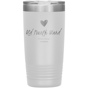 Old Fourth Ward Tumbler White