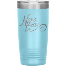 Load image into Gallery viewer, Nana Bear Stainless-Steel Tumbler Light Blue