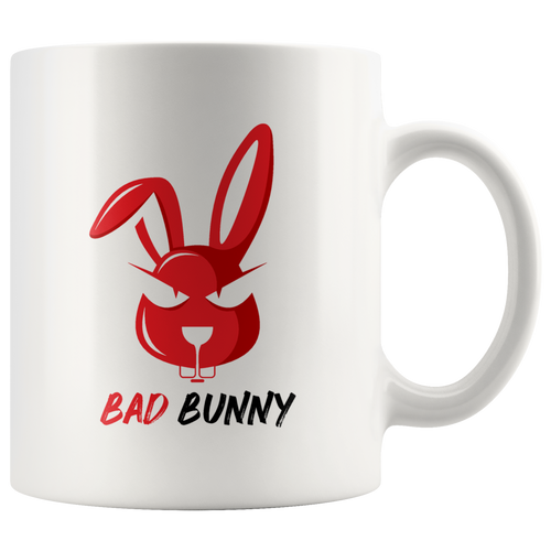Bad Bunny Merch Funny Coffee Cup Front