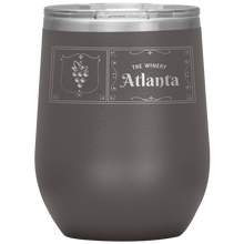 Load image into Gallery viewer, The Winery Atlanta Wine Tumbler Pewter