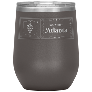 The Winery Atlanta Wine Tumbler Pewter