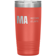 Load image into Gallery viewer, Midtown Atlanta Tumbler Coral