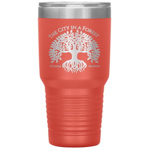 Atlanta City in a Forest Tumbler Coral