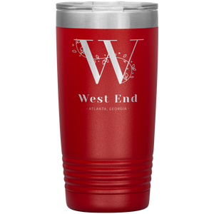 West End Atlanta Tumbler Red