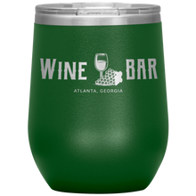 Load image into Gallery viewer, Wine Bar Atlanta Tumbler Green