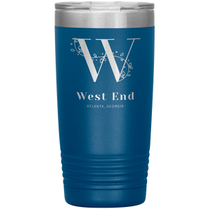 West End Atlanta Tumbler Blue
