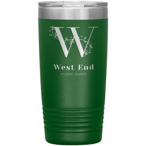 West End Atlanta Tumbler Green