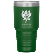 Load image into Gallery viewer, Be-You-Ti-Ful Tree Stainless Steel Tumbler Green