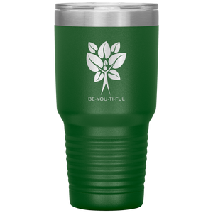 Be-You-Ti-Ful Tree Stainless Steel Tumbler Green