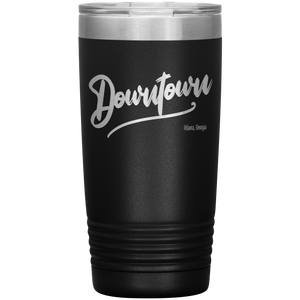Downtown Atlanta Georgia Tumbler Black