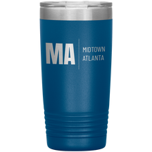 Load image into Gallery viewer, Midtown Atlanta Tumbler Blue