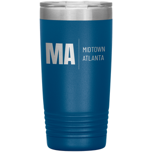 Midtown Atlanta Tumbler Blue