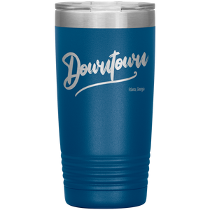 Downtown Atlanta Georgia Tumbler Blue