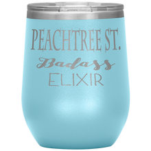 Load image into Gallery viewer, Peachtree Street Badass Elixir Wine Tumbler Light Blue