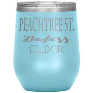 Peachtree Street Badass Elixir Wine Tumbler Light Blue