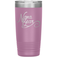 Load image into Gallery viewer, Nana Bear Stainless-Steel Tumbler Light Purple