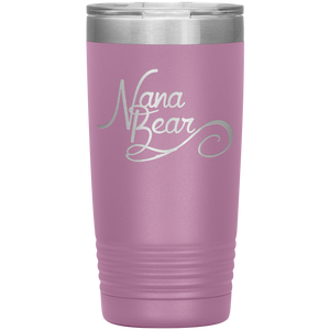Nana Bear Stainless-Steel Tumbler Light Purple
