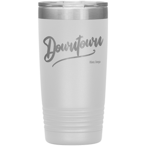 Downtown Atlanta Georgia Tumbler White