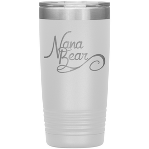Nana Bear Stainless-Steel Tumbler White