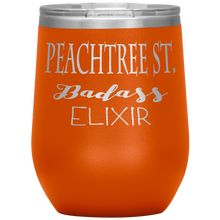 Load image into Gallery viewer, Peachtree Street Badass Elixir Wine Tumbler Orange