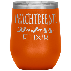 Peachtree Street Badass Elixir Wine Tumbler Orange
