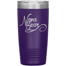 Load image into Gallery viewer, Nana Bear Stainless-Steel Tumbler Purple