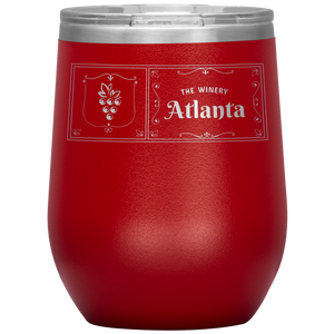 The Winery Atlanta Wine Tumbler Red