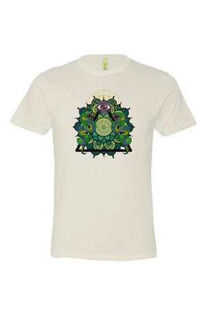 eco jersey crew t shirt Ivory