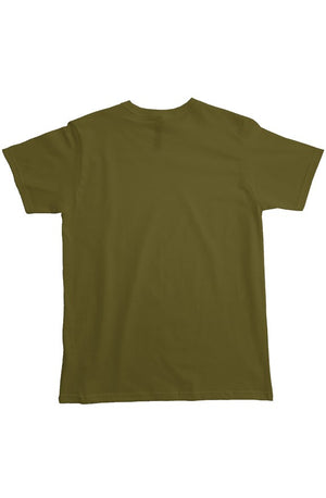 Heavyweight T shit Olive