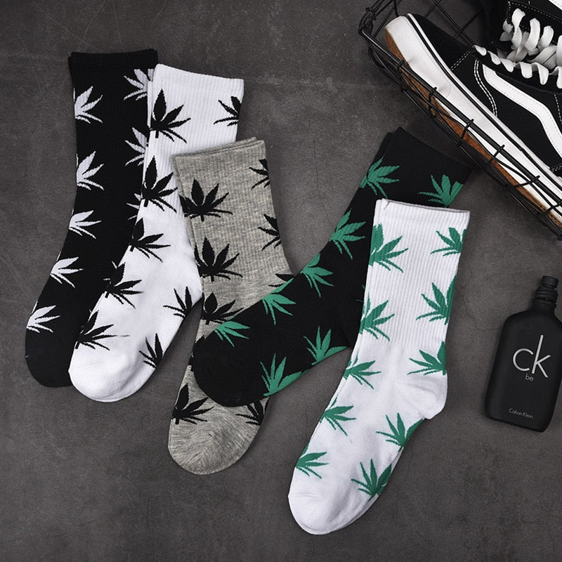 High Quality Leaf Socks