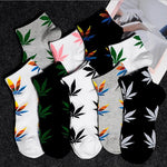 Hemp Leaves Socks