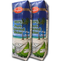 Bogopa Natural 100% Pure Coconut Water, No Sugar Added, Gluten Free (Dogal Hindistan Cevizi Suyu)